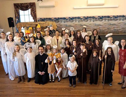 Annual St Spyridon Christmas Pageant