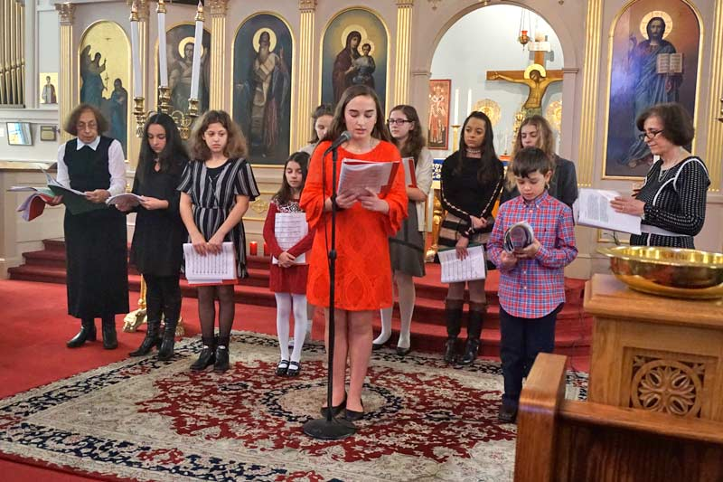 Greek School Three Hierarchs Presentation