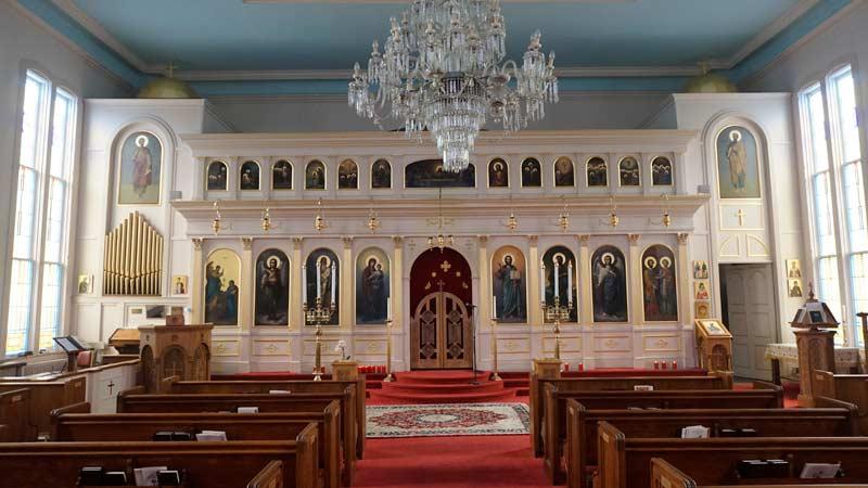 St Spyridon Church Interior