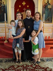 Fr. Aaron Walker and Family
