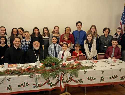 Festal Visit with Metropolitan Methodios