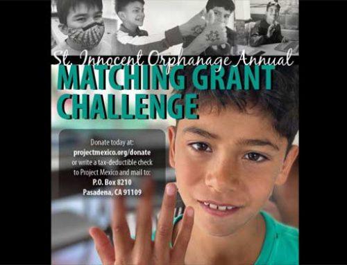 St Innocent Orphanage Matching Grant Challenge