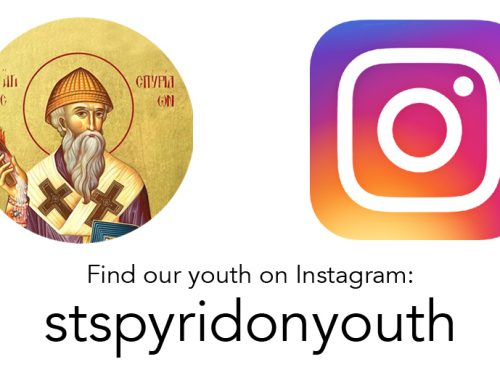 New St Spyridon Youth Instagram Account