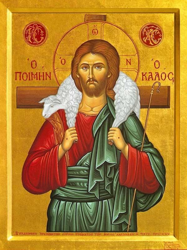 The Good Shepherd icon