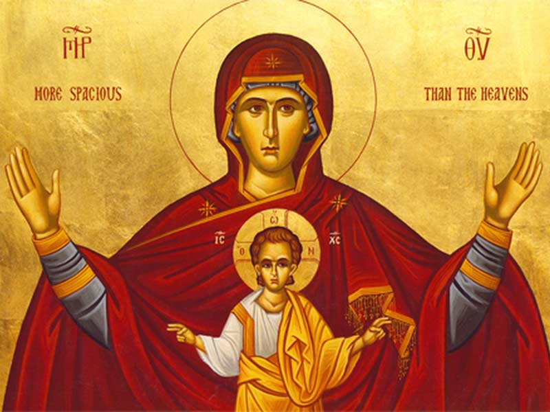 Theotokos and Christ
